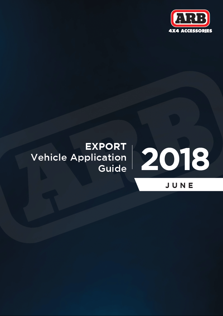EXPORT Vehicle Application Guide