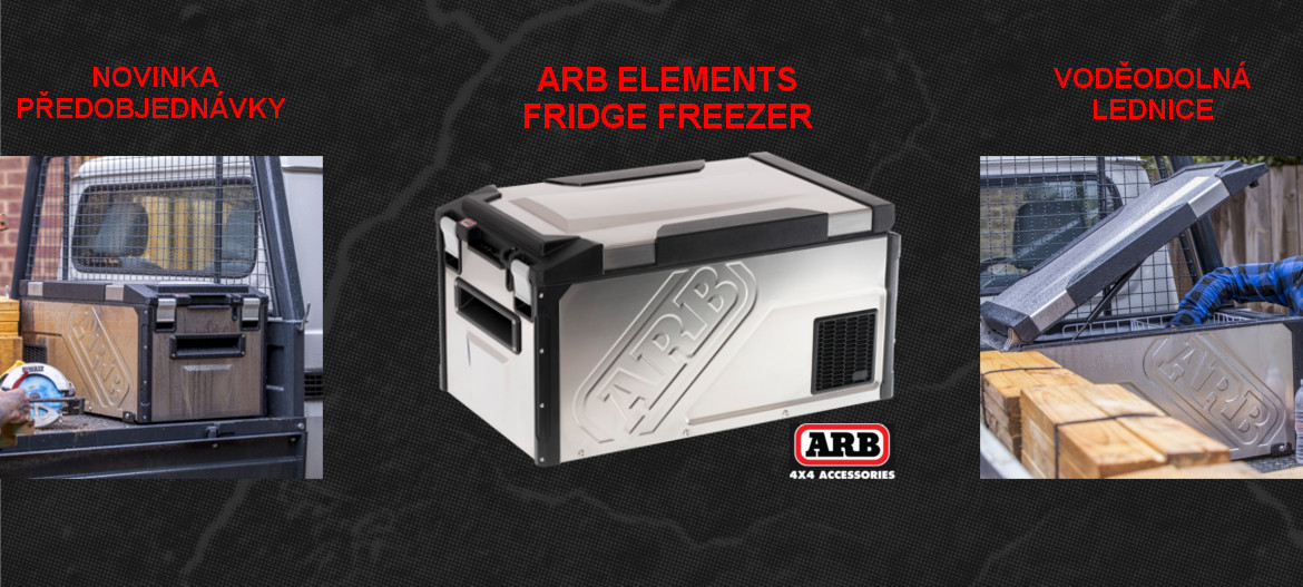 ARB Elements Fridge Freezer 60 lt vodděodolná lednice
